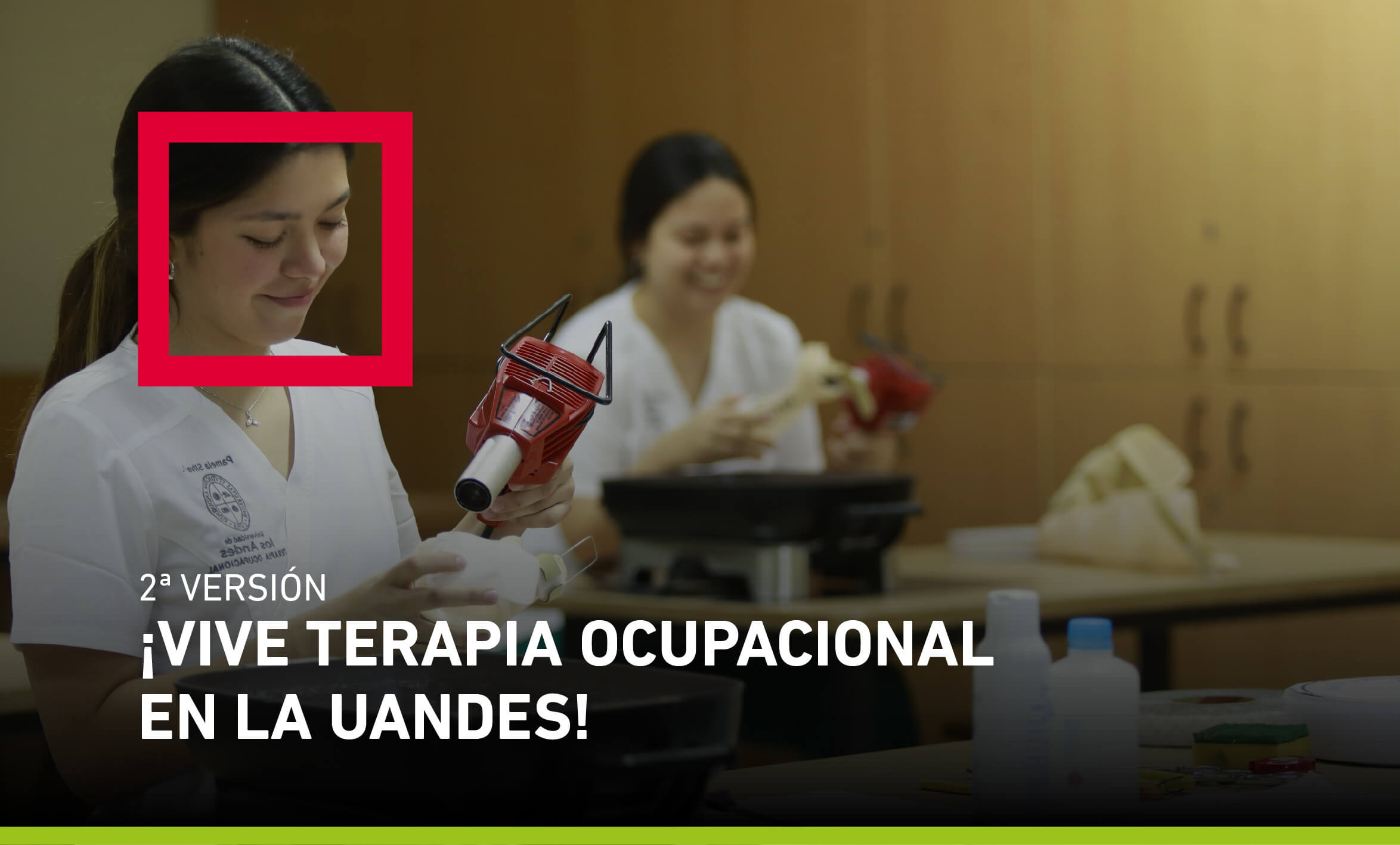Vive Terapia Ocupacional en la UANDES